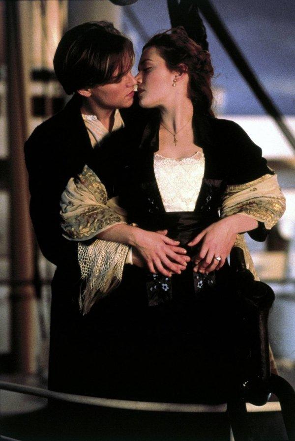 "Jack and Rose, ""Titanic"""