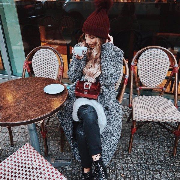 human positions, sitting, street, fashion, spring,