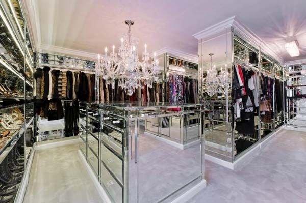 Mirrored Dream Closet