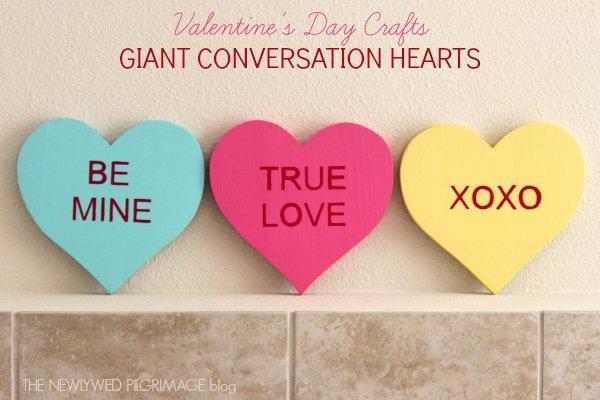 Conversation Heart Prop