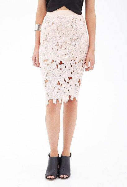 Floral Crochet Skirt