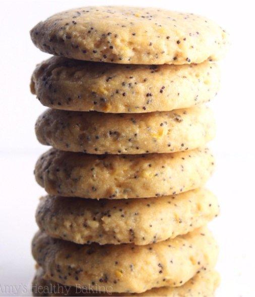 Lemon Poppy Seed Protein Breakfast Cookies