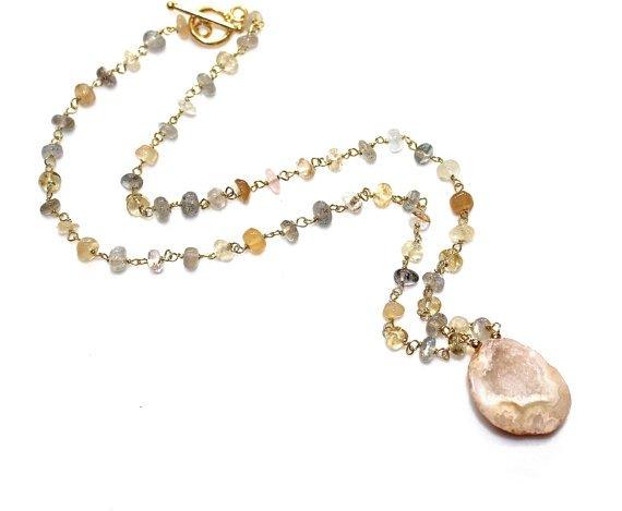 Ceylon Moonstone Necklace
