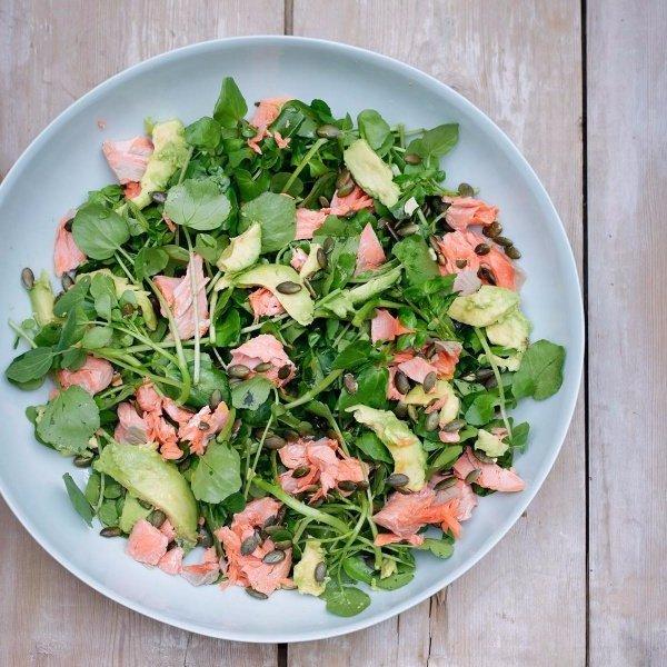 dish, salad, food, produce, plant,