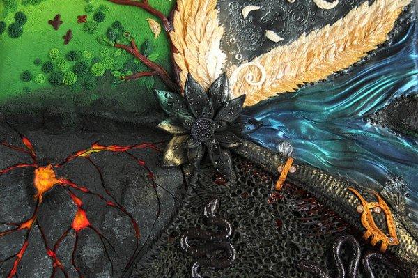 Black Lotus Box Detail
