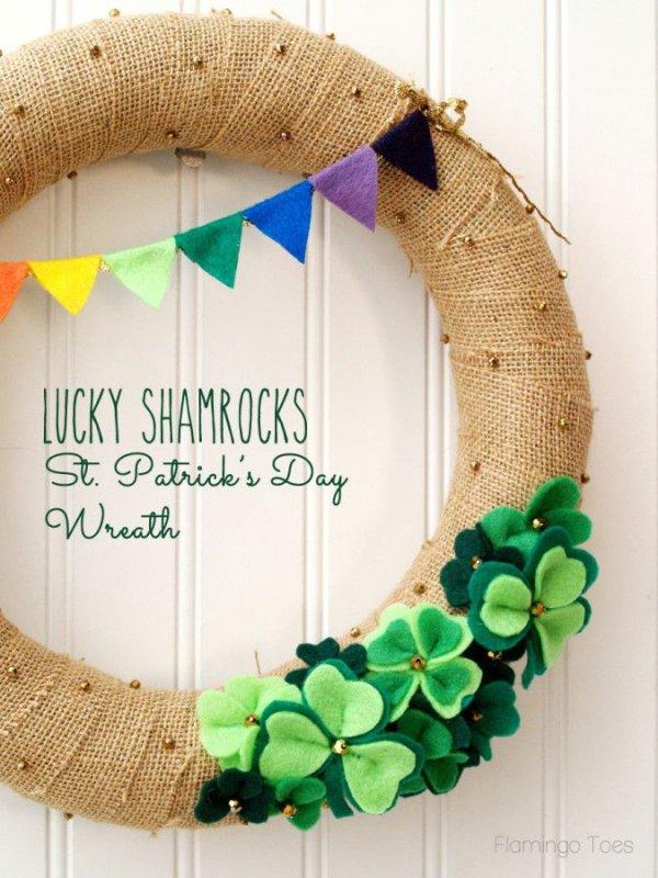 Shamrocks Wreath