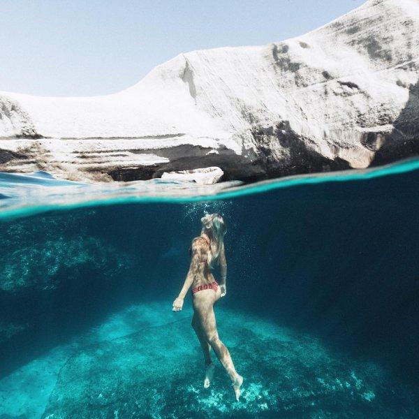underwater, sea, freediving,