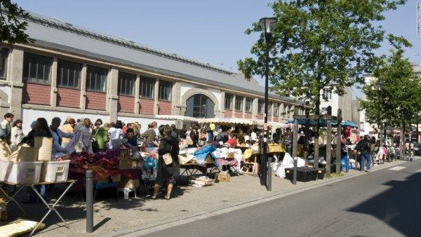 Open Air Market, Liège