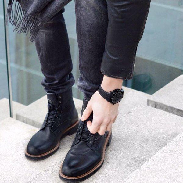footwear, shoe, boot, leather, leg,