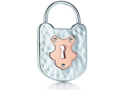 Tiffany Locks Vintage Lock Pendant