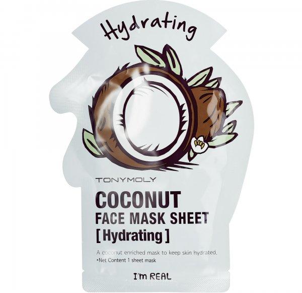 Tony Moly I'm Real - Coconut Face Mask Sheet