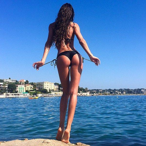 clothing, vacation, beauty, sea, black hair,