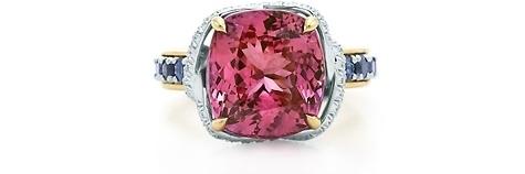 Tiffany Pink Sapphire Ribbon Ring