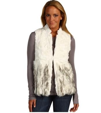 BCBG Maxazria Adler Faux Fur Vest