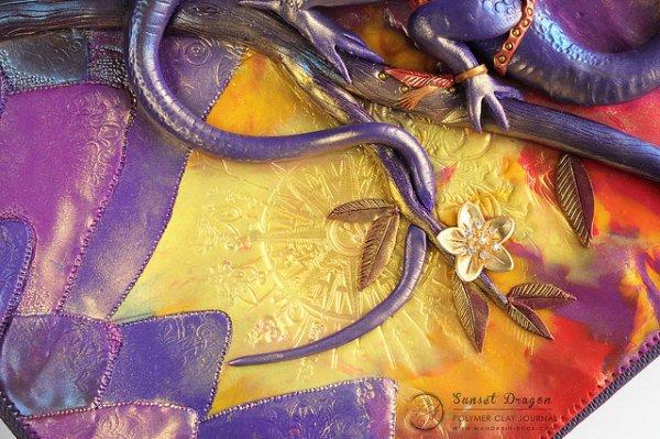 Sunset Dragon Detail