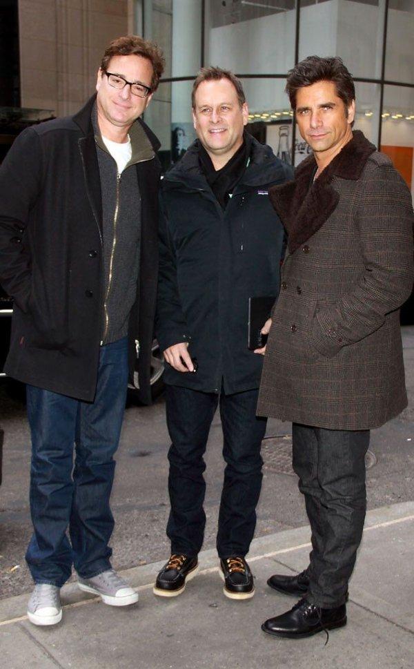 Dave Coulier, John Stamos, & Bob Saget