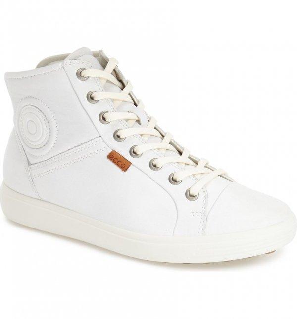 footwear, sneakers, shoe, white, leather,