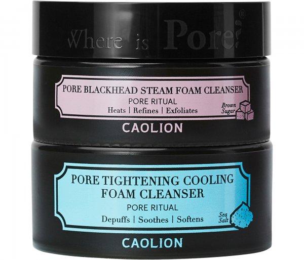 Caolion Hot & Cool Pore Foam Cleansing Duo
