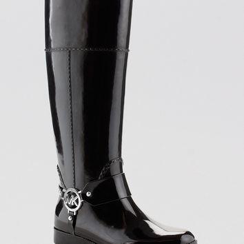 Michael Kors Tall Harness Rain Boots