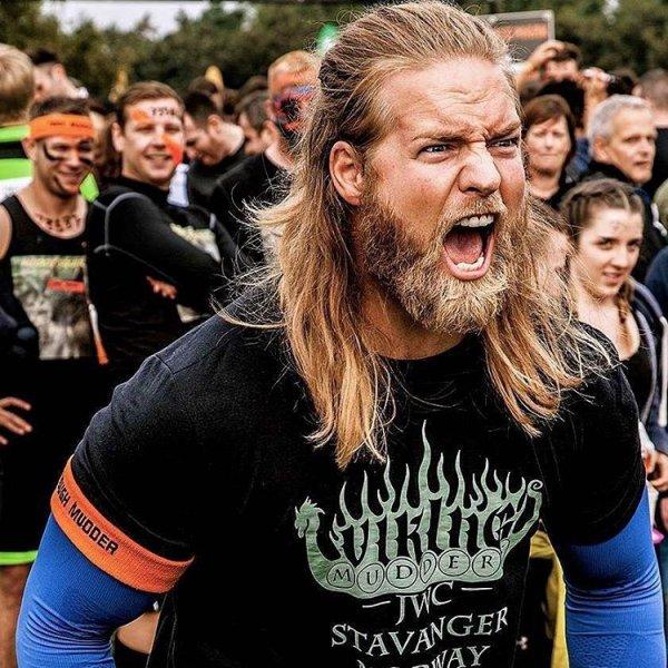 He Does a Mean Viking Roar