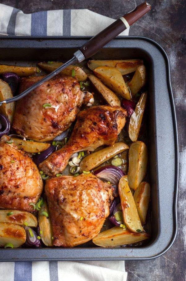 Impressive One-pan Cajun Chicken & Potatoes