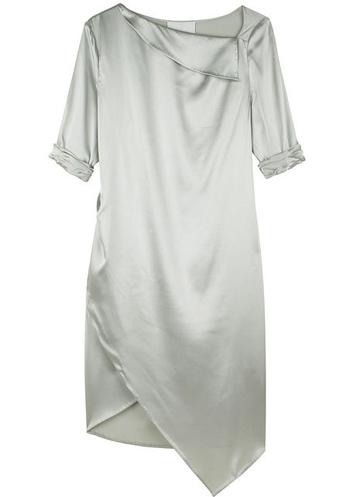 3.1 Phillip Lim Slashed Neckline Dress