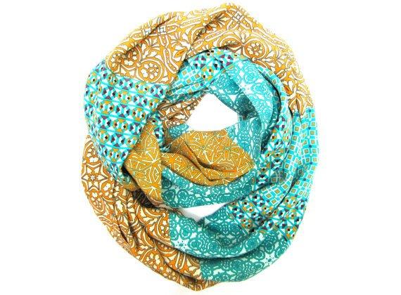 Women's Scarf Silk Infinity Scarf