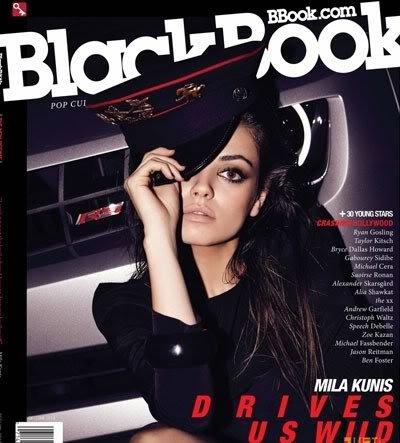 Mila Kunis for BlackBook