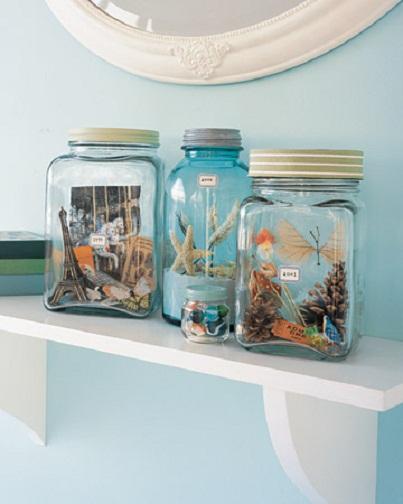 Vacation Keepsake Jars...