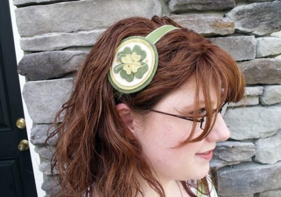 Four-Leaf Clover Headband