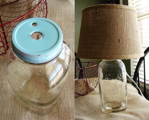 Lamp Base 12 Delightful Mason Jar Lighting Ideas