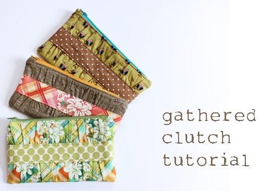 Gathered Clutch