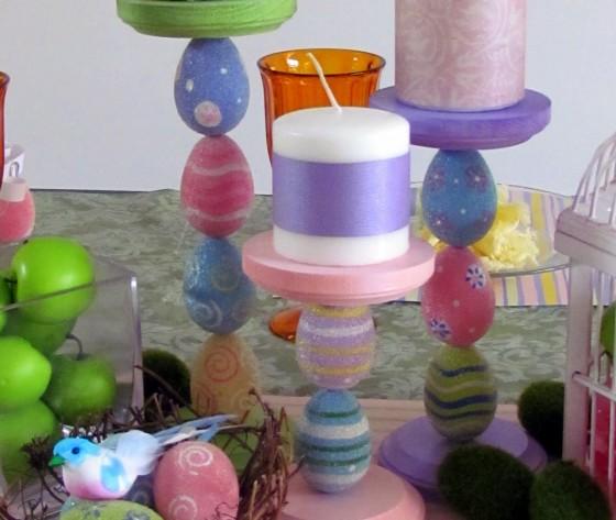 Easter Candle Holder