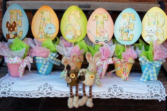 Easter Pots
