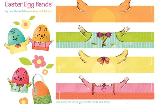 Easter Egg Bands