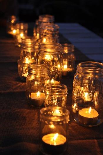 Jar Candle Holders