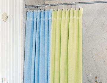 10 Super Simple DIY Shower Curtains