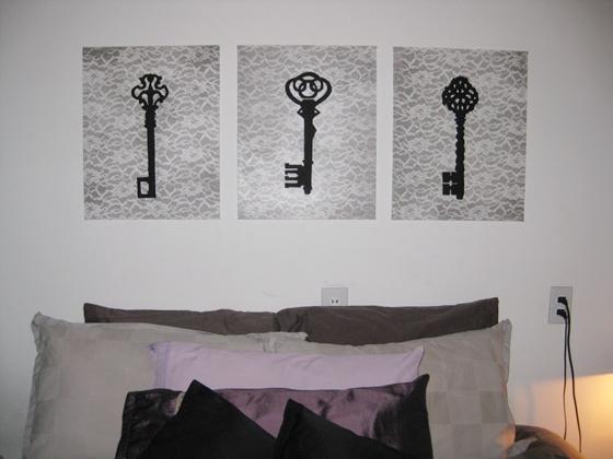 Lacy Key Art - 10 Stunning DIY Skeleton Key Home Decor Ideas ... …