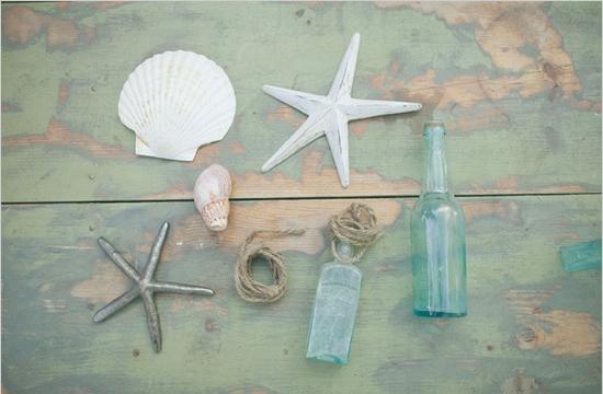 Shell-Topped Bottles