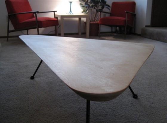 Isamu Noguchiinspired Spaceship Table Marvelous DIY - Noguchi inspired coffee table
