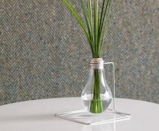Light Bulb Bud Vase