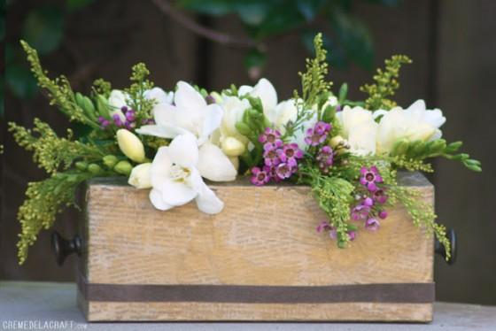 Tissue Box Vase