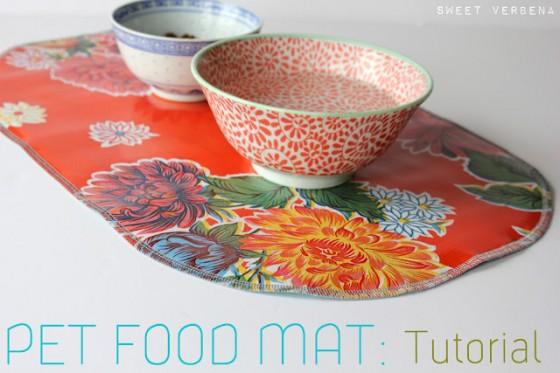 Food Bowl Mat