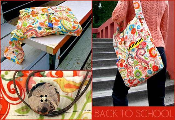 Slouchy Book Bag 9 Sweet Diy School Bags Lifestyle