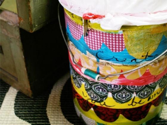 Scalloped Bucket