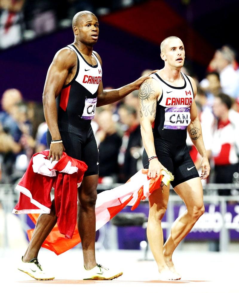 The Canadian Men's 4x100 Team