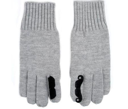 Mustache Gloves