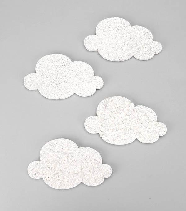 Mini Cloud Cork-Board Set