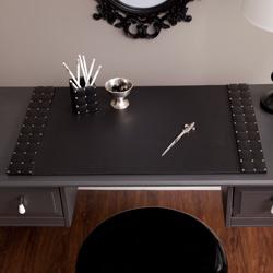 Studded Leather Desk Blotter