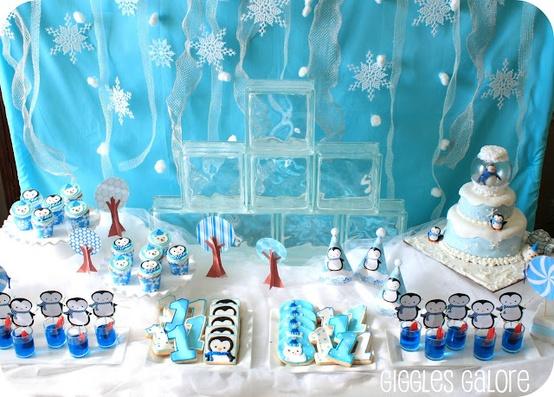 Penguin Table Decorations